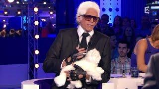 Marc-Antoine Le Bret dans la peau de Karl Lagerfeld #ONPC