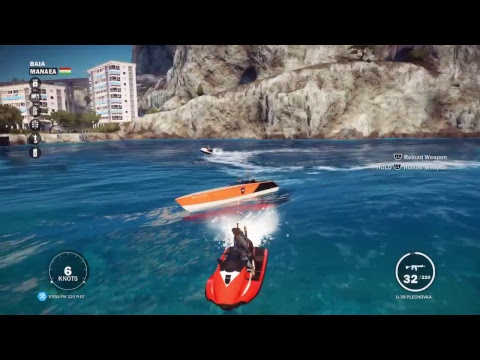 First time playing just cause 3