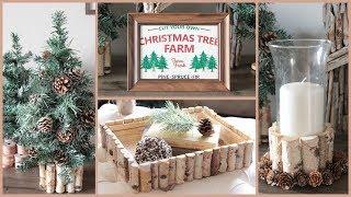 DOLLAR TREE CHRISTMAS DIYS 2018 RUSTIC DECOR