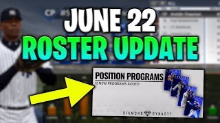 June 22nd Roster Update! 12 New Programs! MLB The Show 18 Diamond Dynasty