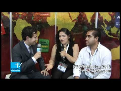 Michael Ryan Interviews Prodigyo at FESPA Mexico City 2010