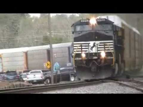 On The Road Railfan TrainSpotting 4 3 09