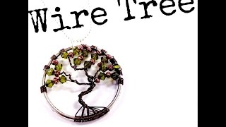 How To Make A Wire Tree Of Life Pendant With The Bead Place