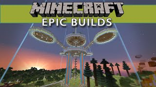 Minecraft Epic Builds - Floating Island Bases