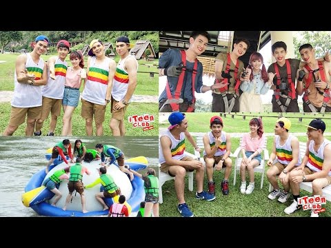 โหด มันส์ ฮา กับ ยูริ YuRiUkuri & พิธีกรหนุ่ม ณ สวนไทรโยค ในรายการ iTeen Club