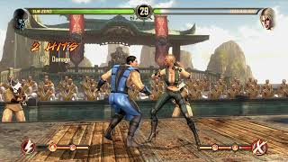 Just some random moves from Mortal Kombat 9 (Becoming a Let's Play channel)