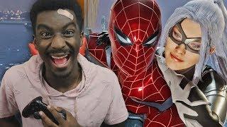 Black Cat Tells Spider Man Her Secret!