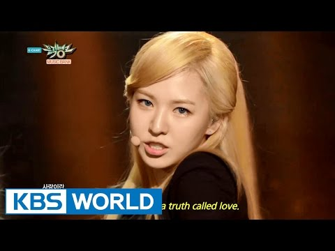 Music Bank - English Lyrics   뮤직뱅크 - 영어자막본 (2015.04.11)