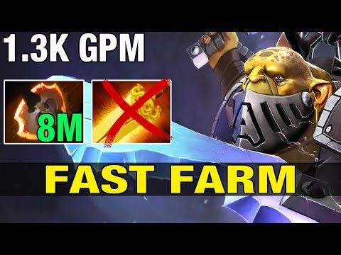 1.3K GPM  FAST FARM By FoREv Top 3 Americas - Dota 2