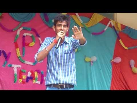 Prateek Pyaar Rock's P.c.s.t. Indore At Teacher's Day 2013 By Shayari Of Dr. Kumar Vishwas. video