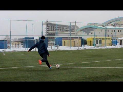 Где и как тренироваться зимой по футболу?