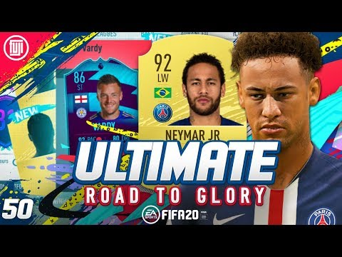 NEYMAR!!!!! ULTIMATE RTG #50 - FIFA 20 Ultimate Team Road to Glory