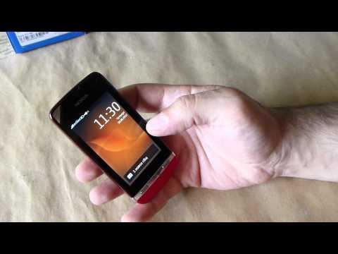 Nokia Asha 311 Video clips