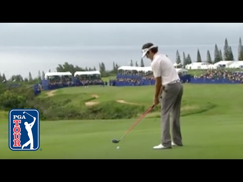 Bubba Watson goes driver-driver-putt for eagle at Kapalua (2011)