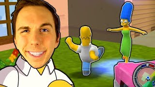 GTA Møder THE SIMPSONS! | Simpsons Hit and Run