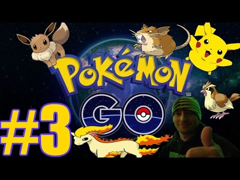 Pokemon GO Gameplay #3 - Trail Ambush (iOS)