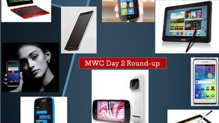 MWC 2012 Day 2 Roundup- Android, WindowsPhones, Tablets