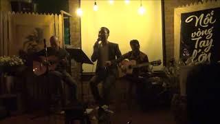 RU EM TỪNG NGÓN XUÂN NỒNG - Đình Khoa &guitarist Trịnh Sơn Truyền tại 90's caFe