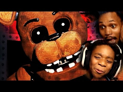 BROS TAG-TEAM FNAF 2! | Five Nights At Freddy's 2 (With My Little Brother!)
