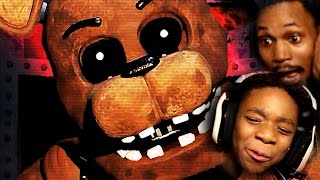 BROS TAG-TEAM FNAF 2! | Five Nights At Freddy