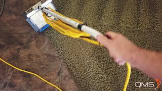 Vacuum, CRB, Hotwater Extraction with QMS Carpet Cleaning