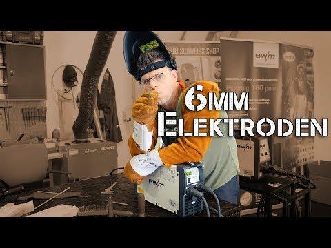 Kann ich 6 mm Elektroden schweißen? | Schweißgeräte Test.