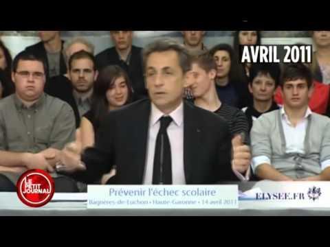 Quand Nicolas Sarkozy est interrompu ...