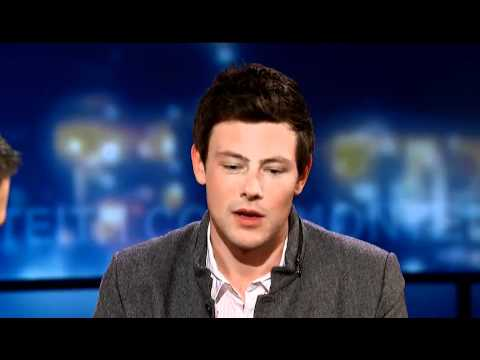 Cory Monteith on Coming Clean About his Troubled Past