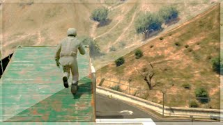 Extreme Hardcore Parkour Race (GTA 5 Funny Moments)