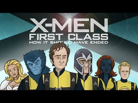 Thumb X-Men: First Class, Como debió haber terminado