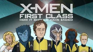 X-Men: First Class, Como debió haber terminado
