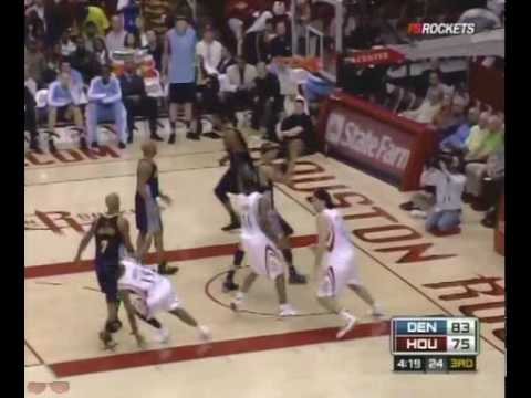Houston Rockets Highlights vs. Nuggets 1/19/2009