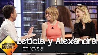 Leticia Dolera y Alexandra Jiménez: