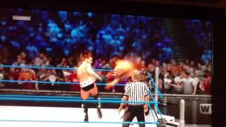 WWE 13 Multiplayer Match - CM Punk VS. Triple H Online Modus Challenge PS3 Version