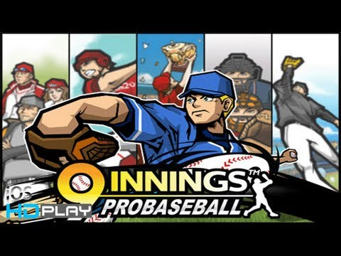9 Innings Pro Baseball 2013 PLUS - Gameplay (iPhone/iPad) HD