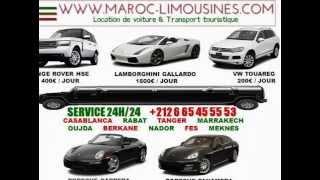 MAROC LIMOUSINES +212665455553 LOCATION VOITURE CAMION MINIBUS AUTOCAR  MAROC