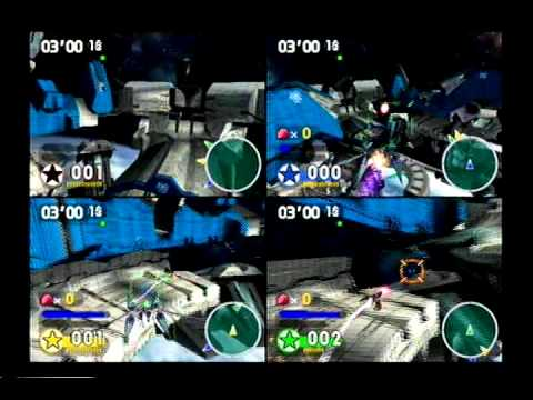 Let's Play Star Fox Assault - Versus Mode #4 - Air Strike