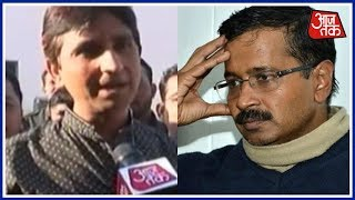 Kumar Vishwas Slams Arvind Kejriwal Over AAP MLAs' Disqualification | AajTak Exclusive