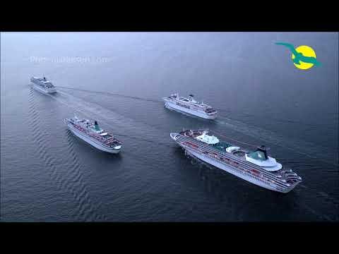 MS ARTANIA, MS ALBATROS, MS AMADEA & MS DEUTSCHLAND! Die Phoenix-Flotte gleichzeitig in Bremerhaven!
