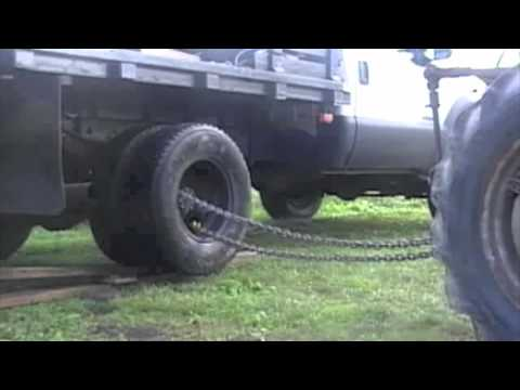 F350 Dually Wheels >> Removing dual wheels from F350 - YouTube