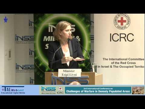 Statement by MK Tzipi Livni, Israeli Minister of Justice