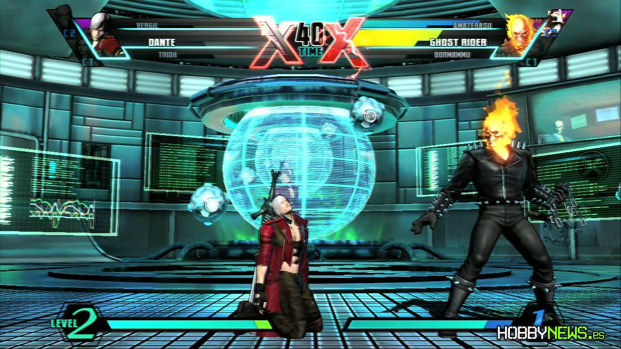 Ghost Rider vs Flash Dante vs Ghost Rider