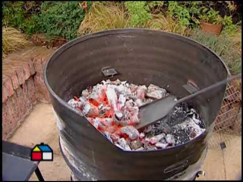 ¿Cómo hacer una parrilla-horno?