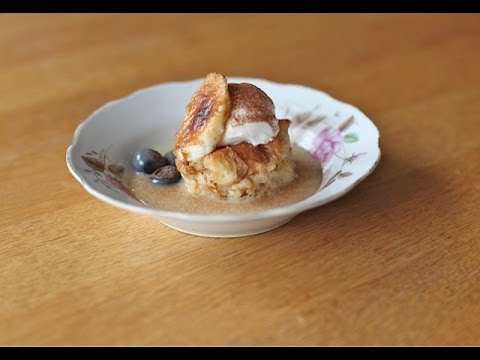Bread Pudding with the Best Vanilla Sauce