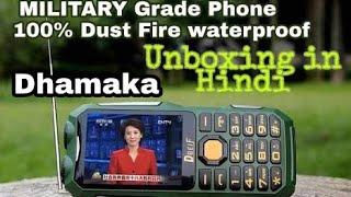 Dbeif 2018 MagicalVoice Military Grade phone Super Tuff 100% waterproof Dhamekedar Unboxing in Hindi