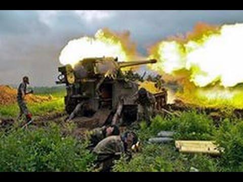 """Новое приобретение ополченцев 152-мм артиллерийское орудие """"Гиацинт-С"""""""