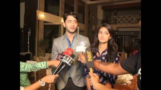 Shaheer and Erica talk with Media about Completion of 50 Episodes