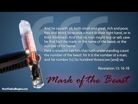 MARK OF THE BEAST=RFID CHIP  (PLEASE DO NOT TAKE THIS!)
