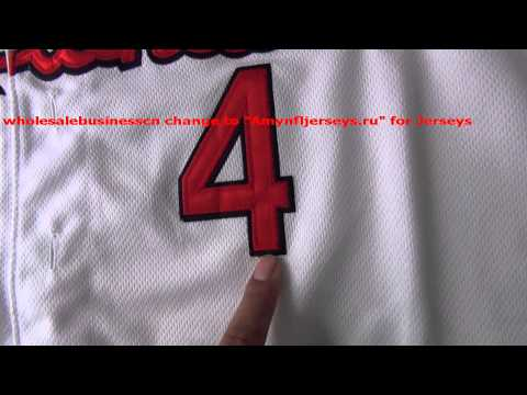 8MLB St  Louis Cardinals Yadier Molina #4 jersey