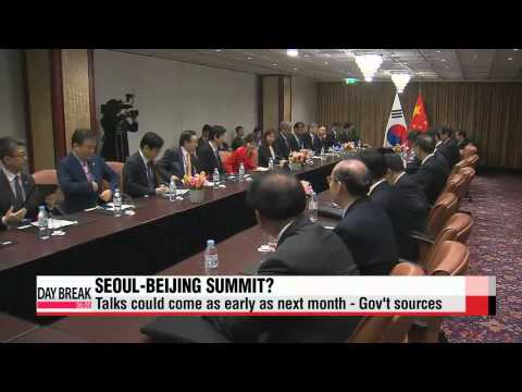 Plans for South Korea, China summit amid North Korea nuke threat